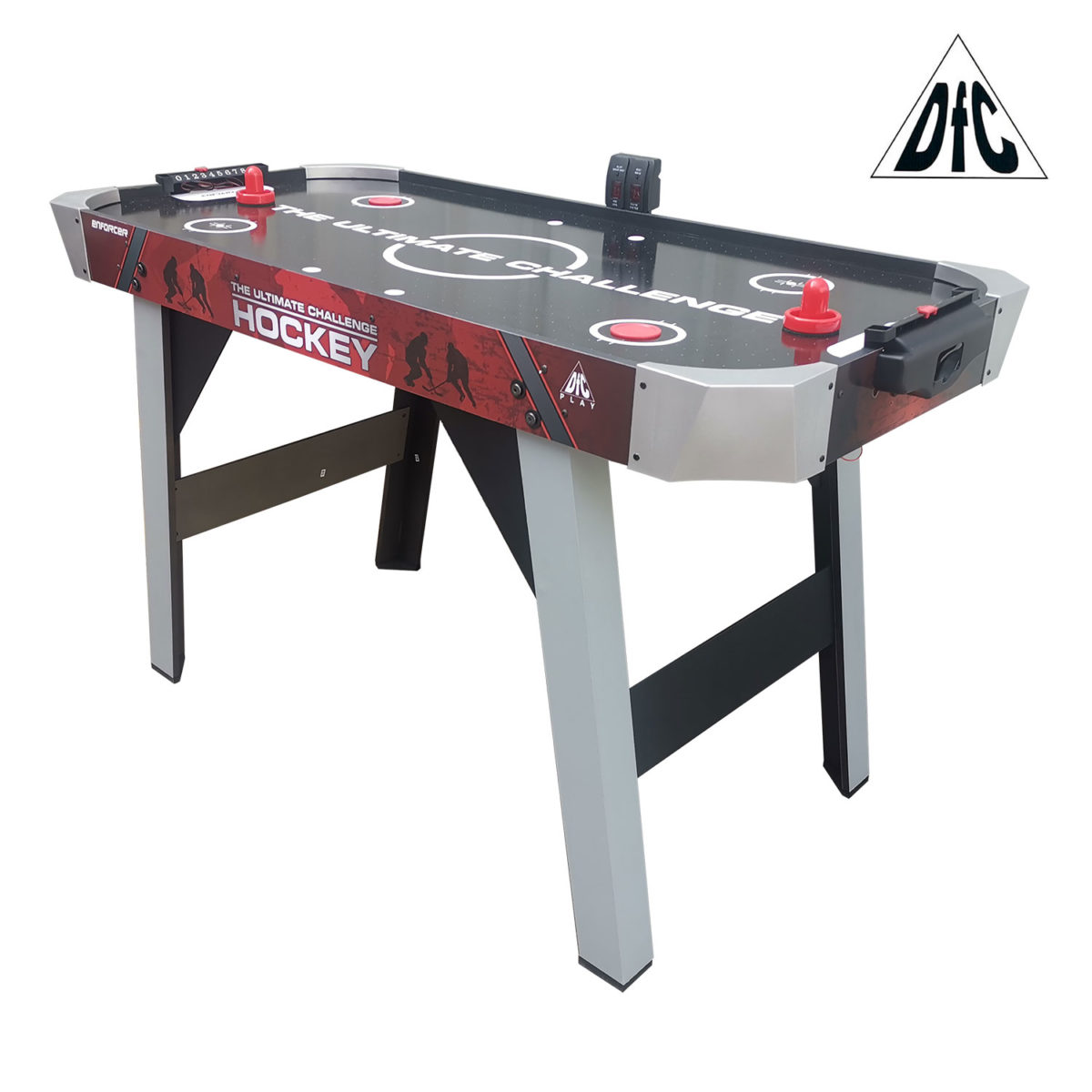 """Игровой стол - аэрохоккей DFC ENFORCER 48""""-арт-AT-125-"""