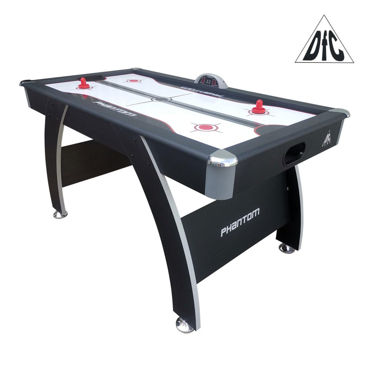"""Игровой стол - аэрохоккей DFC PHANTOM 60""""-арт-AT-250-"""