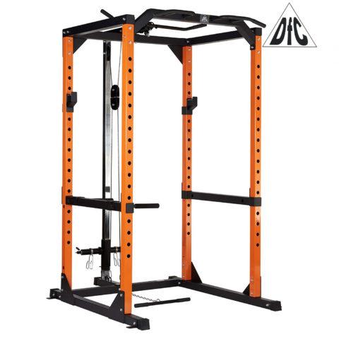 Рама силовая и тяга сверху DFC черный/оранж. (четыре короба)-арт-DCGE03-