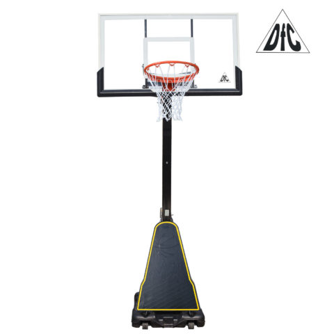 Баскетбольная мобильная стойка DFC STAND54P2 136x80cm поликарбонат-арт-STAND54P2-