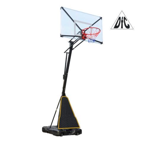 Баскетбольная мобильная стойка DFC STAND54T 136x80см поликарбонат-арт-STAND54T-