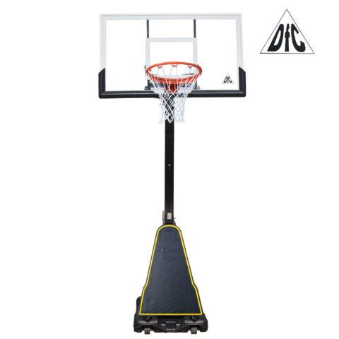 Баскетбольная мобильная стойка DFC STAND60P 152x90cm поликарбонат (два короба)-арт-STAND60P-