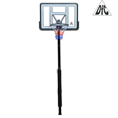 Баскетбольная стационарная стойка DFC ING44P1 112x75cm акрил винт. рег-ка (три короба)-арт-ING44P1-