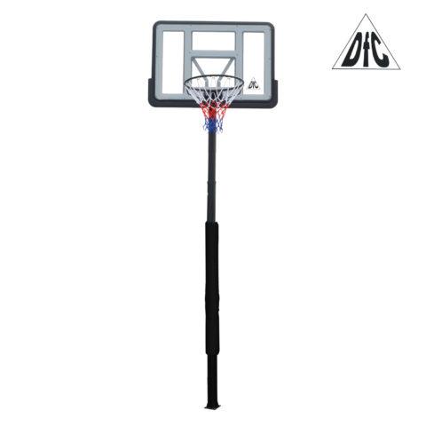 Баскетбольная стационарная стойка DFC ING44P3 112x75cm раздвиж. рег-ка (три короба)-арт-ING44P3-