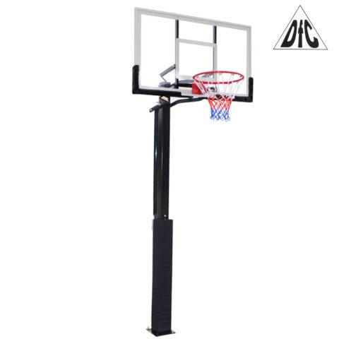 Баскетбольная стационарная стойка DFC ING50A 127x80cm акрил (три короба)-арт-ING50A-