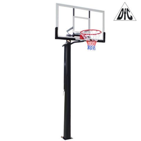 Баскетбольная стационарная стойка DFC ING56A 143x80cm акрил (три короба)-арт-ING56A-