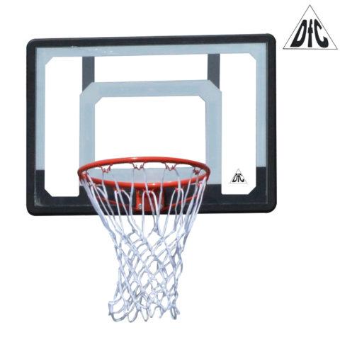 Баскетбольный щит DFC BOARD32 80x58cm п/э прозрачн.-арт-BOARD32-