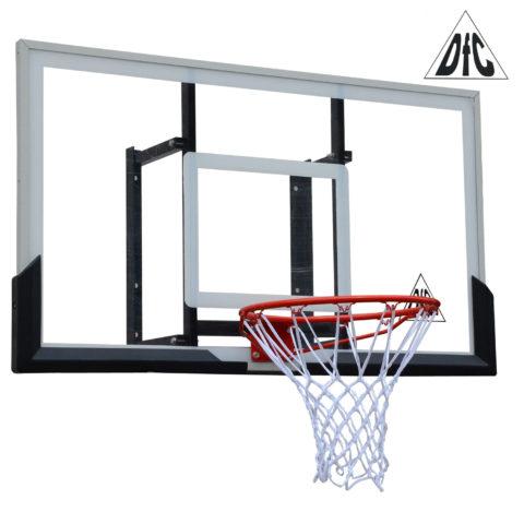 Баскетбольный щит DFC BOARD54A 136x80cm акрил  (два короба)-арт-BOARD54A-