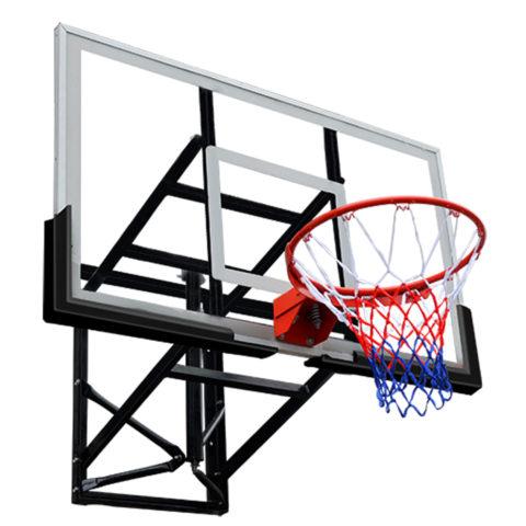 Баскетбольный щит DFC BOARD72G 180x105см стекло 10мм (два короба)-арт-BOARD72G-