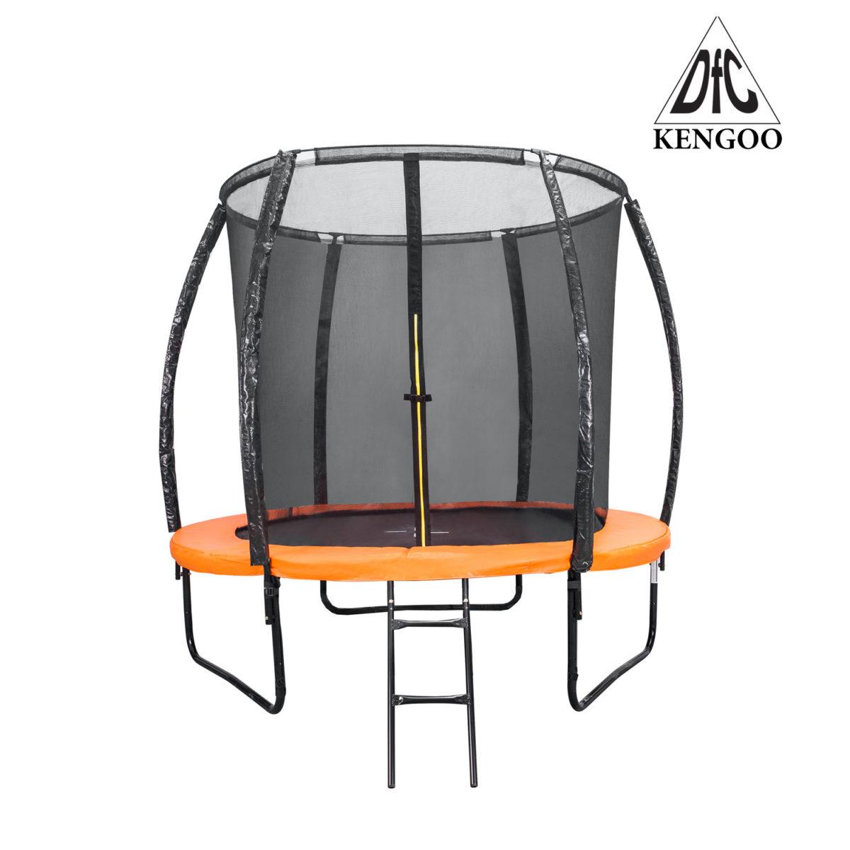 Батут DFC KENGOO II 6ft внутр.сетка