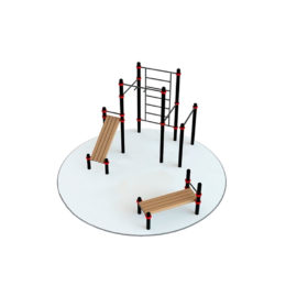 Воркаут площадка Kampfer Power Workout 1-3 для детей и взрослых в квартиру