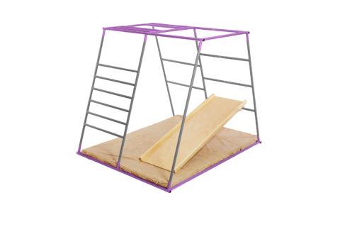 ДСК Ранний старт люкс полная комплектация цветной (Серо-фиолетовый)