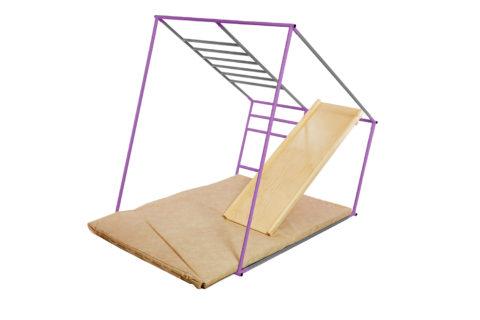 ДСК Ранний старт люкс полная комплектация цветной (Серо-фиолетовый)5