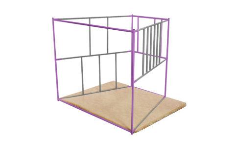 ДСК Ранний старт люкс полная комплектация цветной (Серо-фиолетовый)6