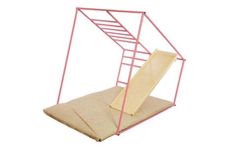 ДСК Ранний старт люкс полная комплектация цветной (розовый) спортивный комплекс для детей4