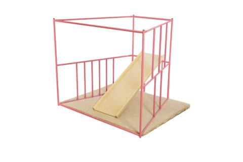 ДСК Ранний старт люкс полная комплектация цветной (розовый) спортивный комплекс для детей3