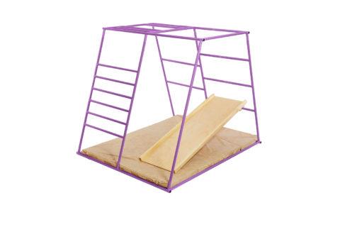 ДСК Ранний старт люкс полная комплектация цветной (фиолетовый) спортивный комплекс для деней4