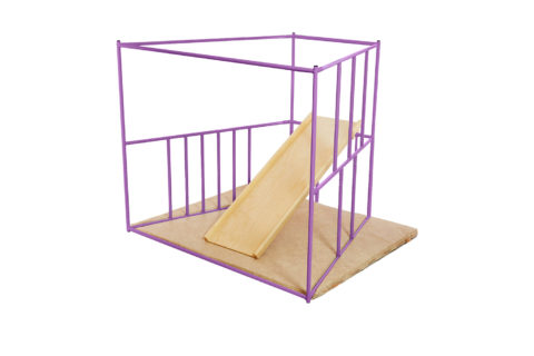 ДСК Ранний старт люкс полная комплектация цветной (фиолетовый) спортивный комплекс для деней