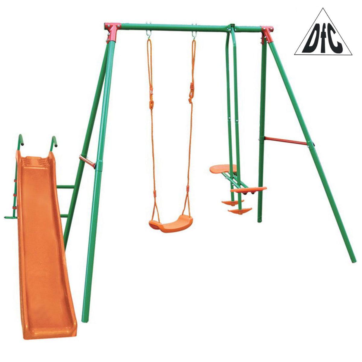 Детский комплекс с горкой DFC MSN-02-арт-MSN-02-DFC