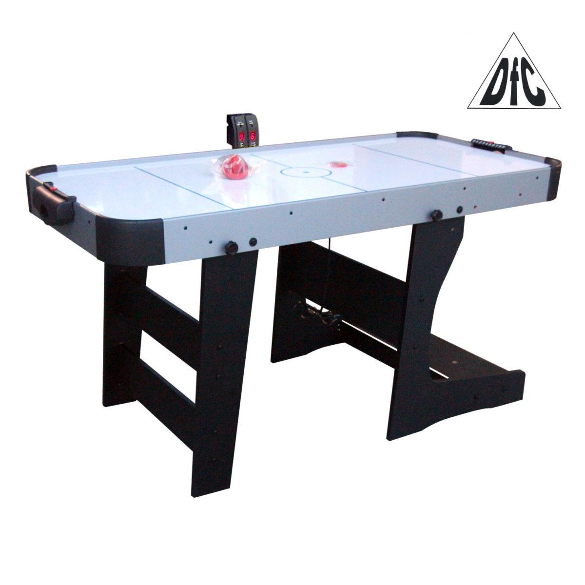 """Игровой стол - аэрохоккей DFC """"BASTIA 6"""" складной-арт-HM-AT-72301-"""