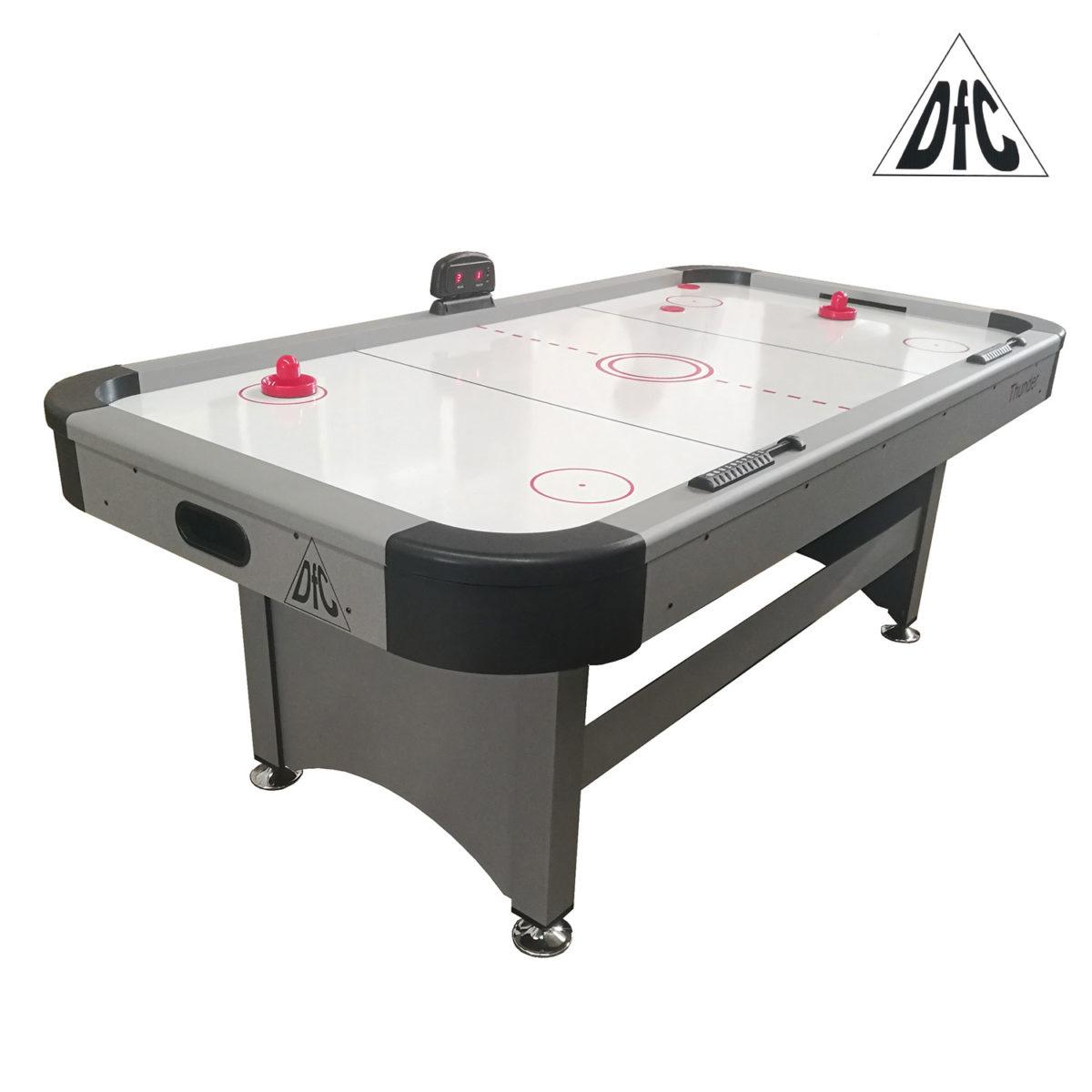 Игровой стол - аэрохоккей DFC THUNDER 7ft-арт-DS-AT-06-