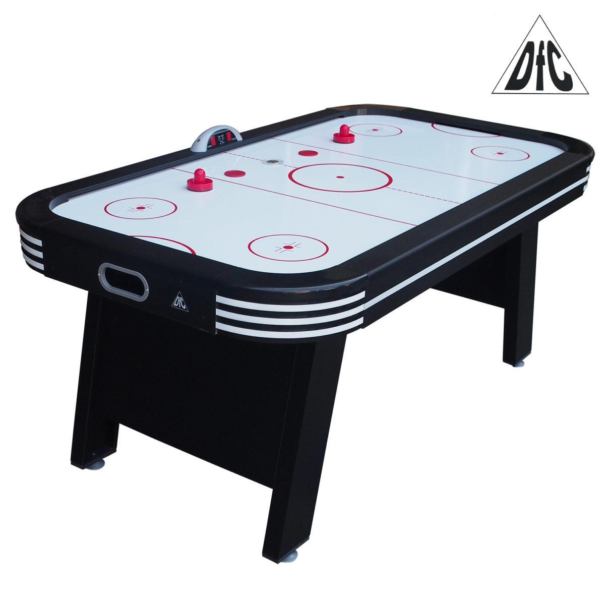 Игровой стол - аэрохоккей DFC VEGAS 6ft LED-шайба-арт-ES-AT-6800E1-
