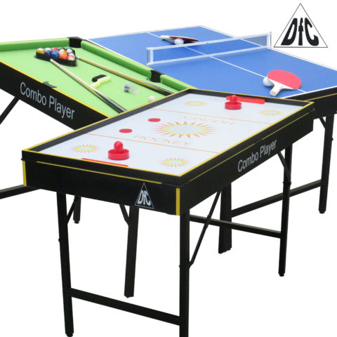 """Игровой стол - трансформер DFC """"SMILE"""" 3 в 1-арт-ES-GT-4870-"""