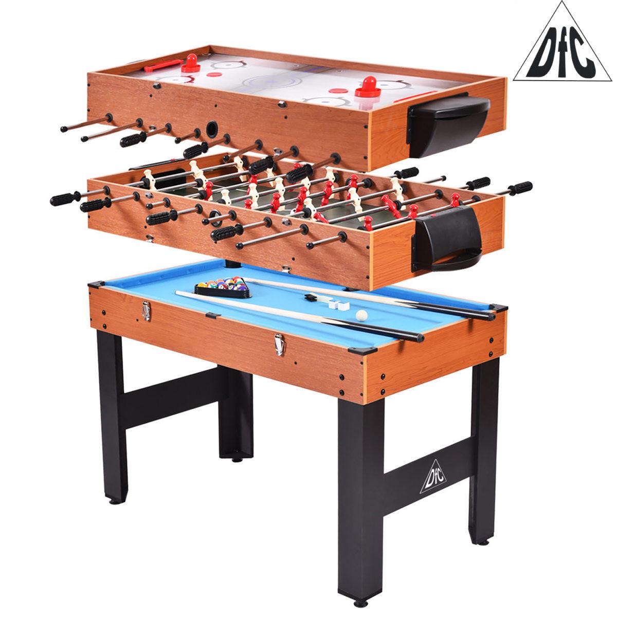 """Игровой стол - трансформер DFC SOLID 48"""" 3 в 1-арт-JG-GT-54810-"""