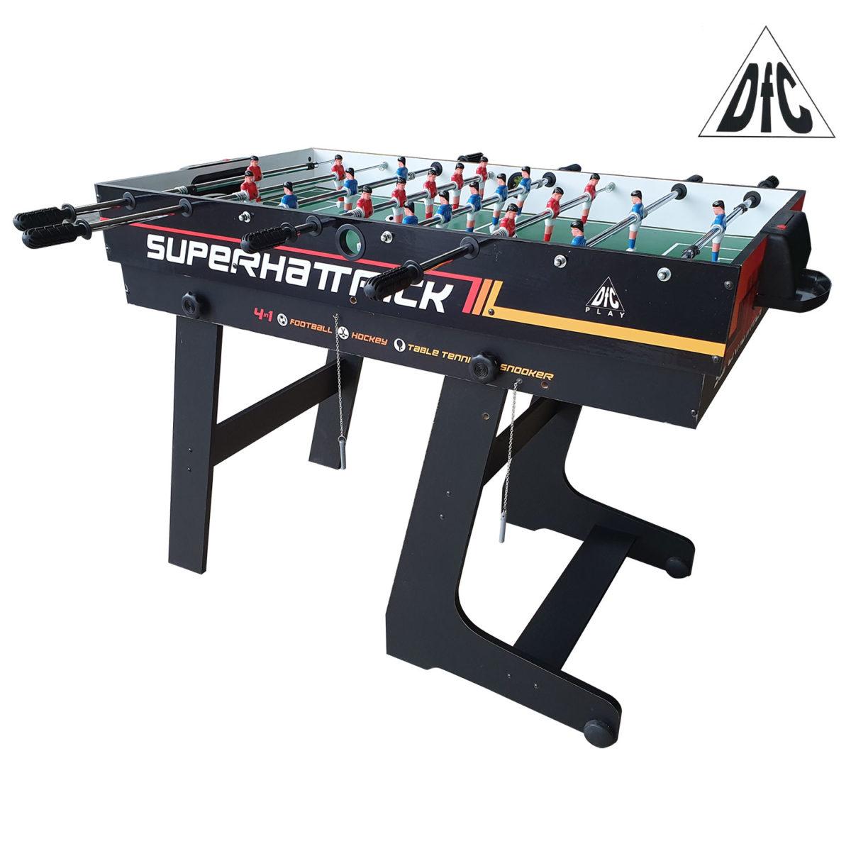 Игровой стол - трансформер DFC SUPERHATTRICK 4 в 1-арт-SB-GT-08-