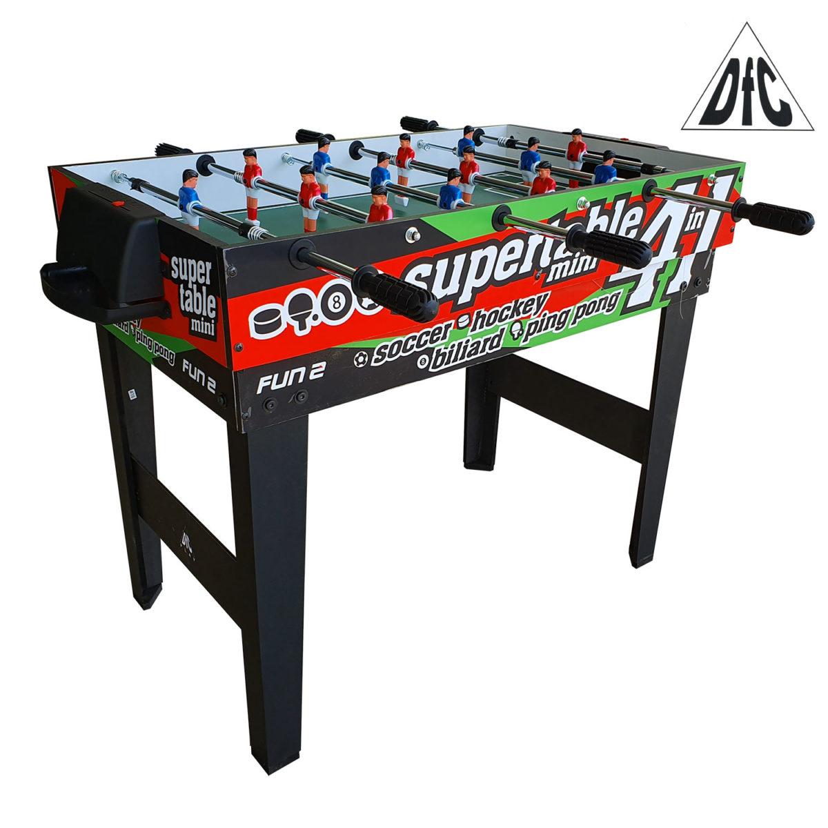 Игровой стол - траснформер DFC FUN2 4 в 1-арт-SB-GT-10-