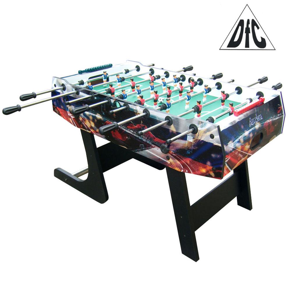 "Игровой стол - футбол ""Barcelona"" DFC складная-арт-GS-ST-1338-DFC"