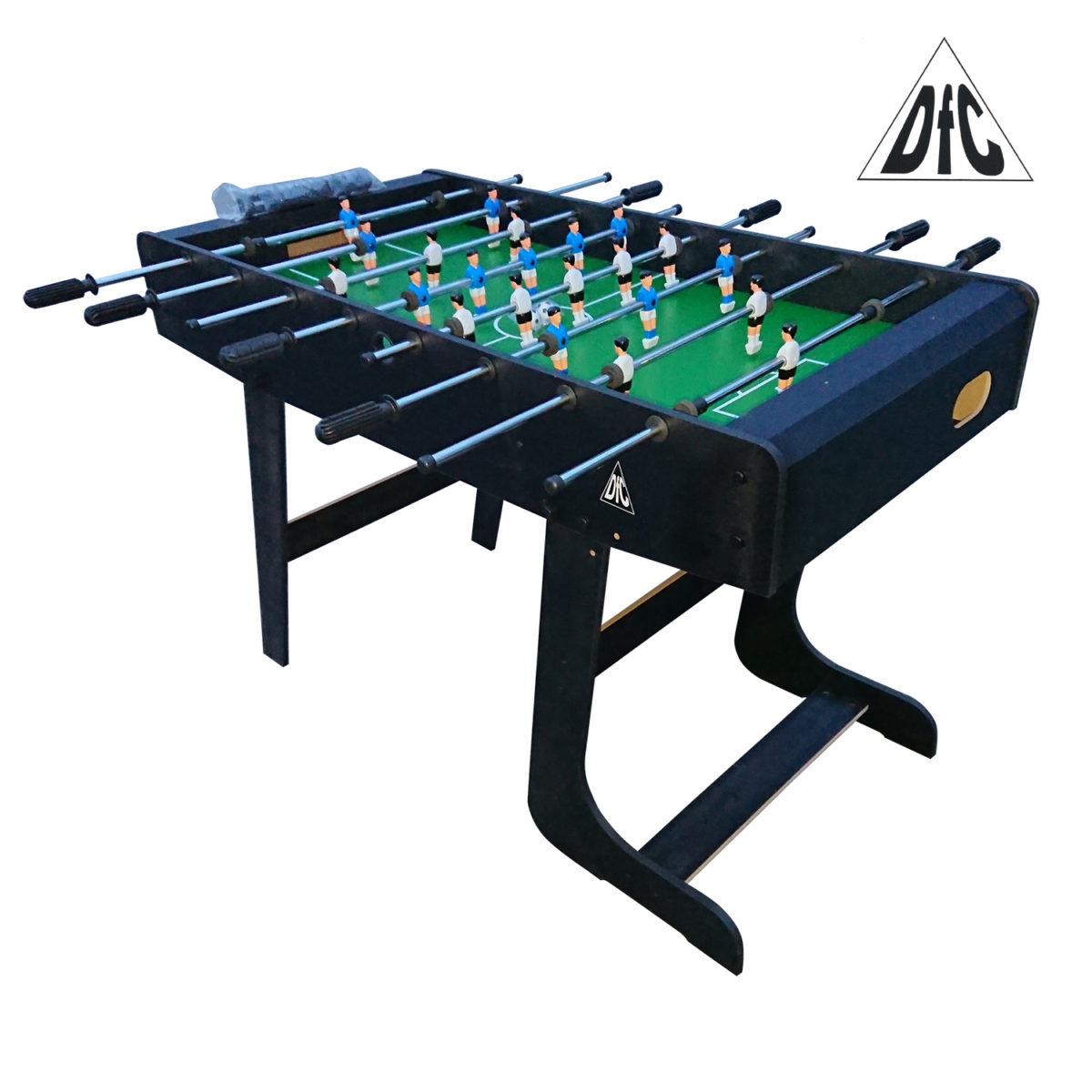 Игровой стол - футбол DFC St.PAULI складной HM-ST-48301-арт-HM-ST-48301-