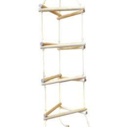 Лестница треугольная для детей и взрослых в квартиру