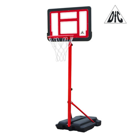 Мобильная баскетбольная стойка DFC KIDSB2 п/п черн.щит-арт-KIDSB2-