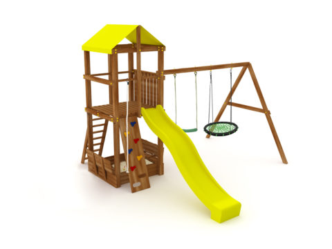 Спортивно-игровой комплекс Kampfer Cool Castle для детей и взрослых в квартиру