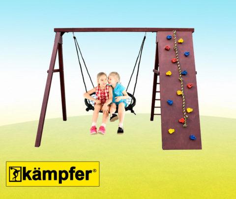 Спортивно-игровой комплекс Kampfer Rocky для детей и взрослых в квартиру