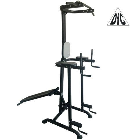 Стойка для подтягиваний со скамьей DFC VT-7005 (два короба)-арт-VT-7005-