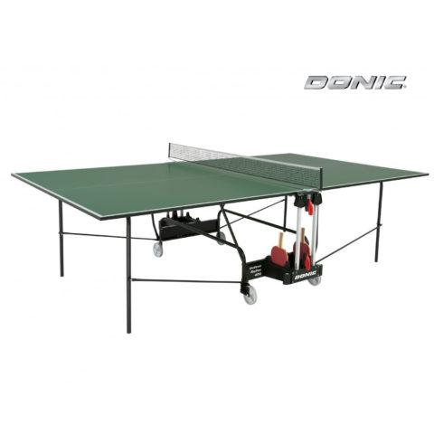 Теннисный стол DONIC INDOOR ROLLER 400 GREEN-арт-230284-G-DONIC