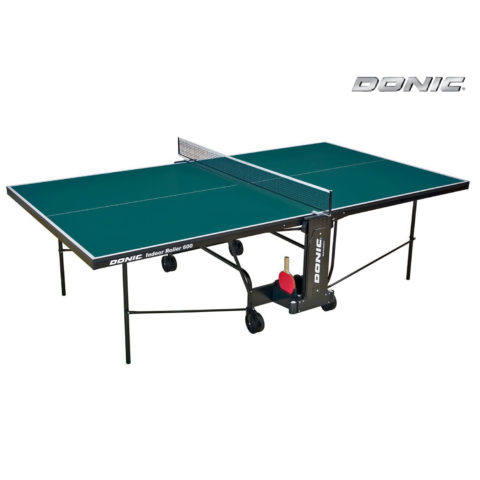 Теннисный стол DONIC INDOOR ROLLER 600 GREEN-арт-230286-G-DONIC