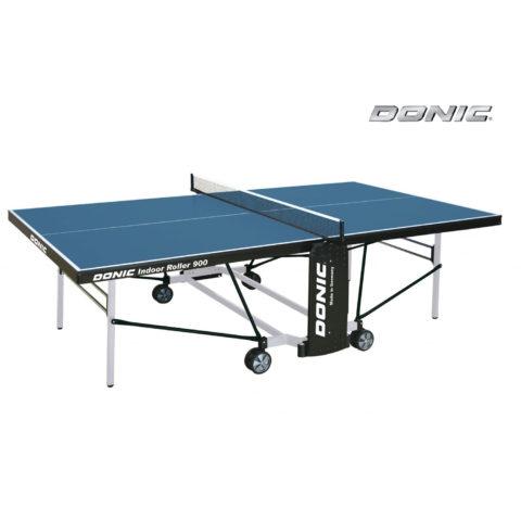 Теннисный стол DONIC INDOOR ROLLER 900 BLUE-арт-230289-B-DONIC