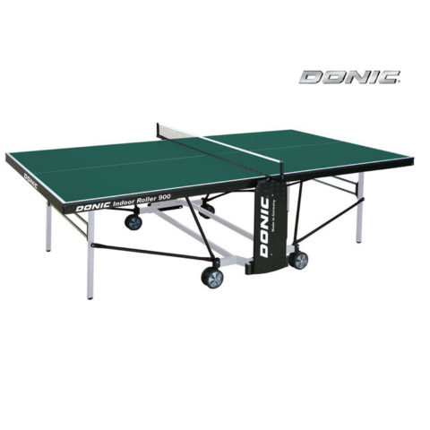 Теннисный стол DONIC INDOOR ROLLER 900 GREEN-арт-230289-G-DONIC