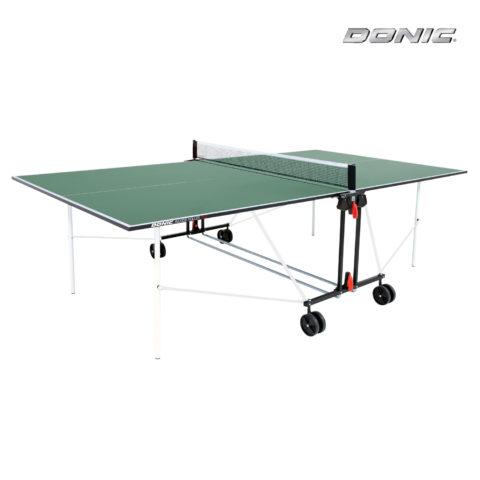 Теннисный стол DONIC INDOOR ROLLER SUN GREEN 16мм-арт-230222-G-