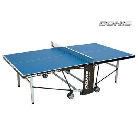Теннисный стол DONIC OUTDOOR ROLLER 1000 BLUE-арт-230291-B-DONIC