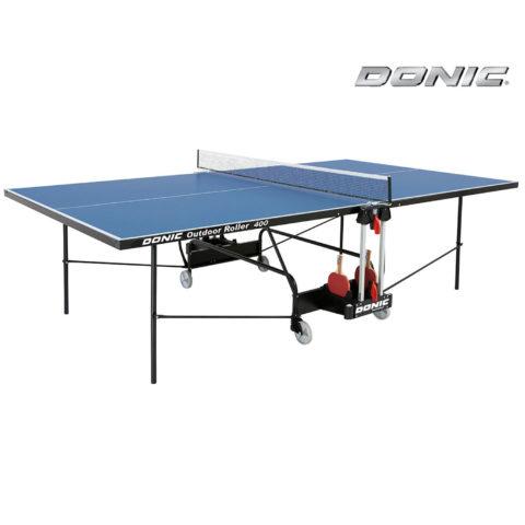 Теннисный стол DONIC OUTDOOR ROLLER 400 BLUE-арт-230294-B-