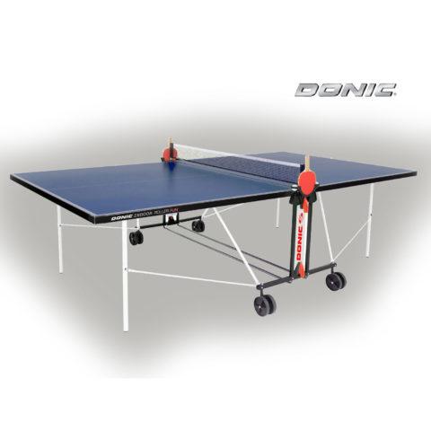 Теннисный стол DONIC OUTDOOR ROLLER FUN BLUE с сеткой 4мм-арт-230234-B-DONIC