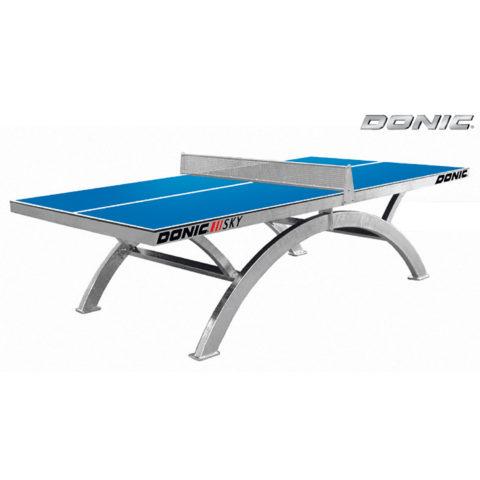 Теннисный стол DONIC OUTDOOR SKY синий (три короба)-арт-230265-B-