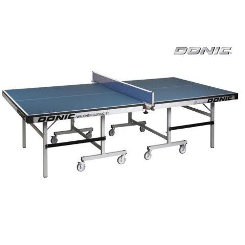 Теннисный стол DONIC WALDNER CLASSIC 25 BLUE (без сетки)-арт-400221-B-DONIC
