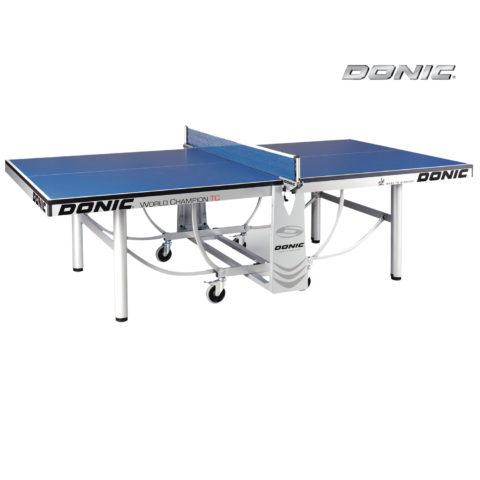Теннисный стол DONIC WORLD CHAMPION TC BLUE (без сетки)-арт-400240-B-