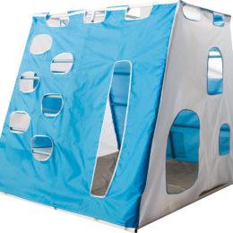 Чехол Замок бело-синий (люкс) для детей и взрослых в квартиру