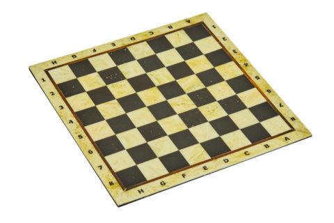 Шахматная доска малая без рамки 25*25 -yantar08